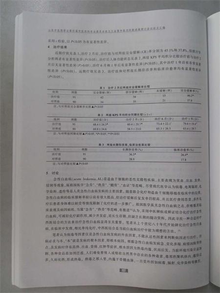 王永瑞大夫的论文